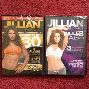 Jillian Michaels workout dvd